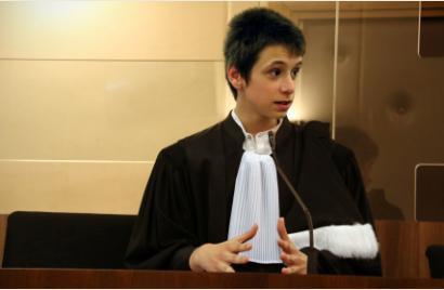 L'avocat de la défense de la classe de 4ème « talentueux »